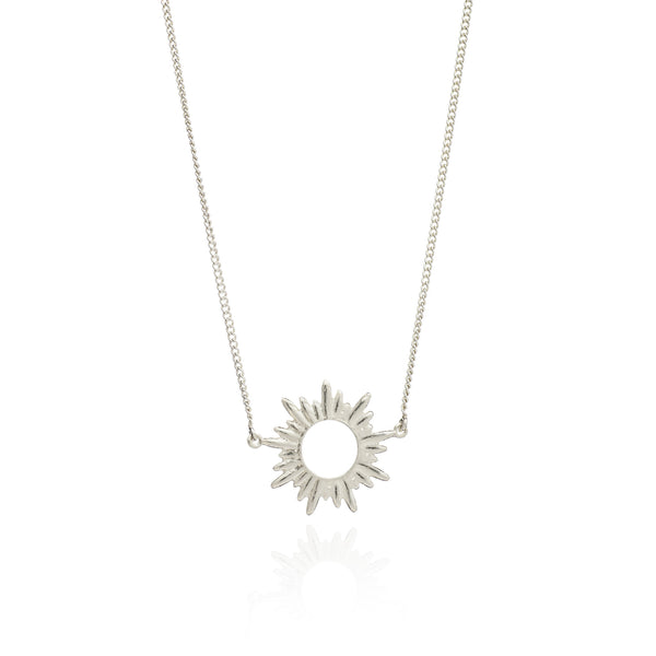 Rachel Jackson Silver Sunrays Necklace Rachel Jackson Designer Necklaces Silverado Jewellery
