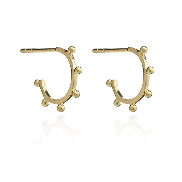 Rachel Jackson Mini Punk Hoops Rachel Jackson Designer Earrings Silverado Jewellery