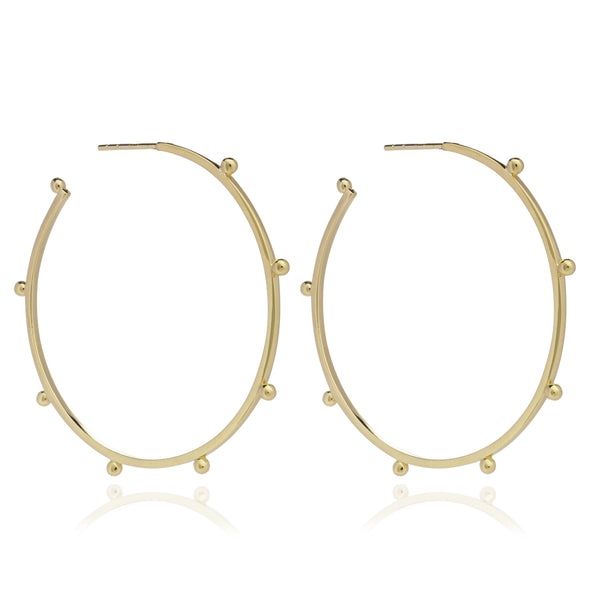 Rachel Jackson Large Punk Hoops