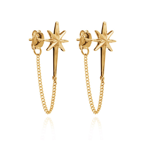Rachel Jackson Rockstar Chain Earrings