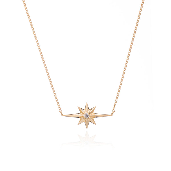 Rachel Jackson Shooting Star Diamond Necklace