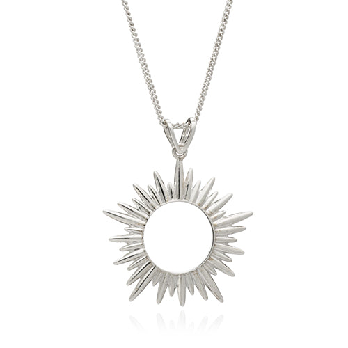Rachel Jackson Silver Electric Goddess Necklace