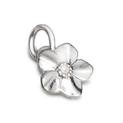 Scarlett Silver Forget-Me-Not Charm