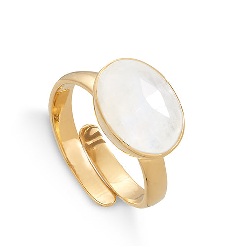 SVP Jewellery Moonstone Atomic Maxi Ring