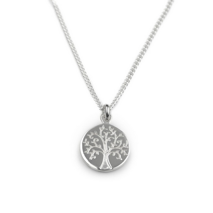 Tales from the Earth - Tales From The Earth Tree of Life Necklace - Designer Necklaces - Silverado