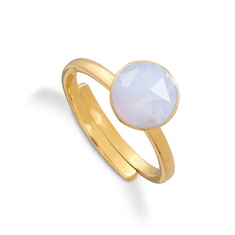 SVP Jewellery Blue Lace Agate Starman Ring