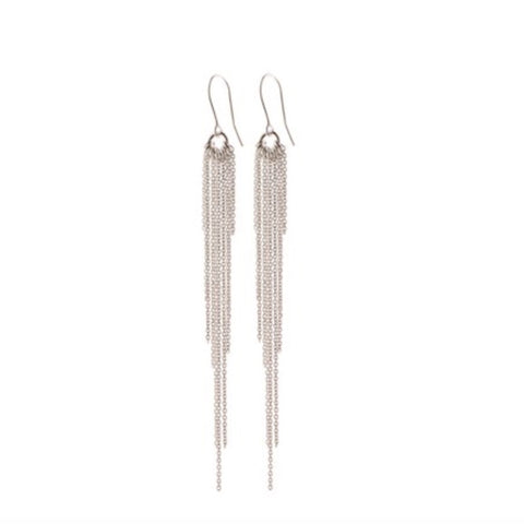 Pernille Corydon Silver Rain Earrings