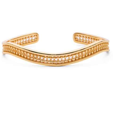Azuni Etrusca Simple Wave Bangle