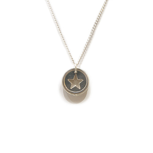 Tales from the Earth - Tales From The Earth Star Wish Necklace - Designer Necklaces - Silverado