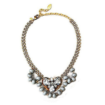 David Aubrey - David Aubrey Delilah Necklace - Designer Necklaces - Silverado