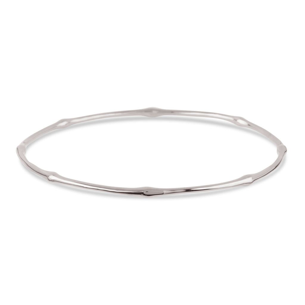 Dinny Hall Silver Bamboo Bangle Dinny Hall Designer Braclets Silverado Jewellery