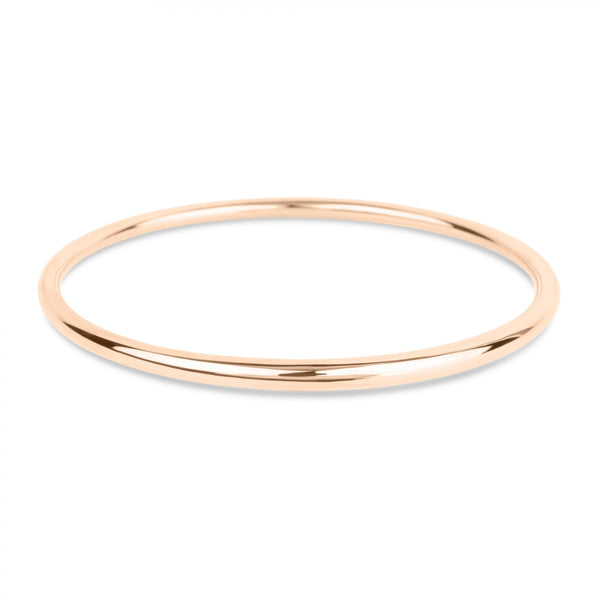 Dinny Hall - Dinny Hall Rose Gold Tapering Bangle - Designer Bracelets - Silverado