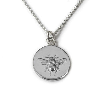 Tales from the Earth - Tales From The Earth Busy Bee Necklace - Designer Necklaces - Silverado