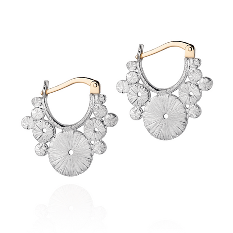 Laura Lee Zenith Creole Earrings