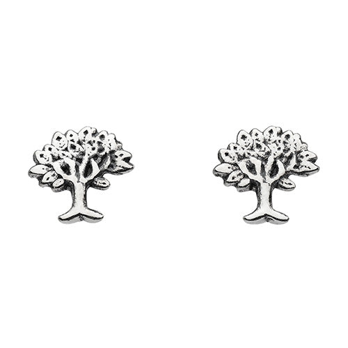 Sterling Silver - Tree Studs - Silver Earrings - Silverado