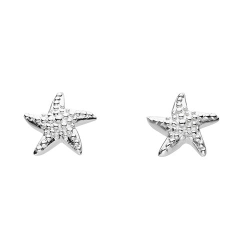 Starfish Earrings Sterling Silver Earrings Silverado Jewellery