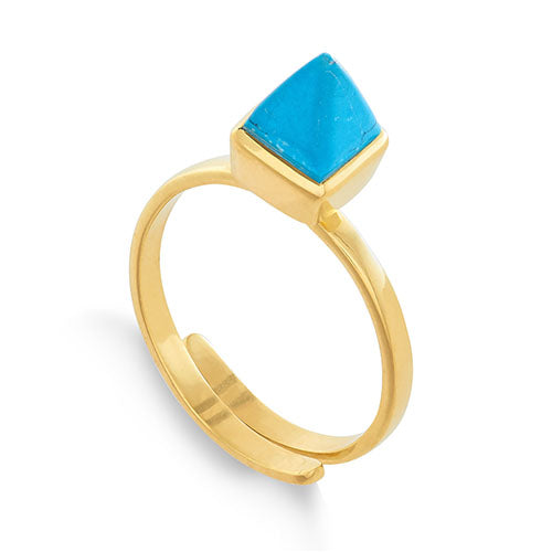 SVP Jewellery 'Rock the Casbah' Turquoise Ring