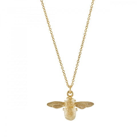 Alex Monroe 18ct In-Beetweeny Bee Necklace