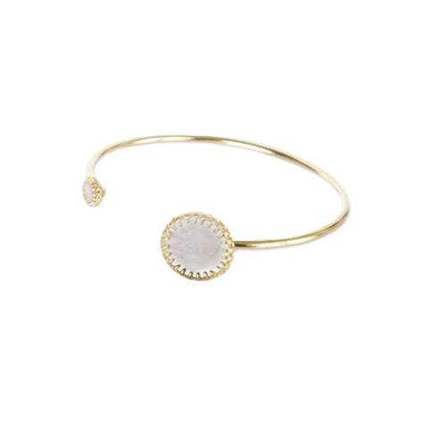 Medecine Douce Mother of Pearl Phedre Bangle