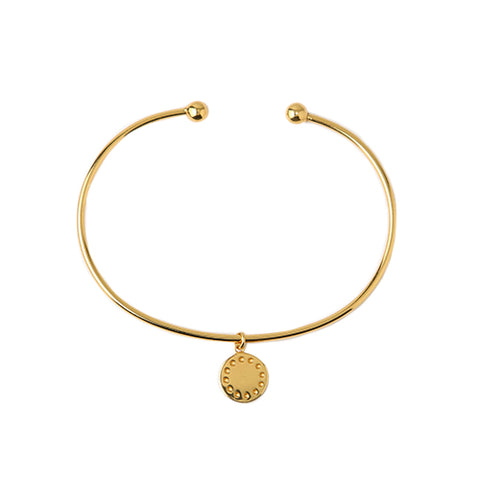 Orelia LUXE Coin Charm Bangle
