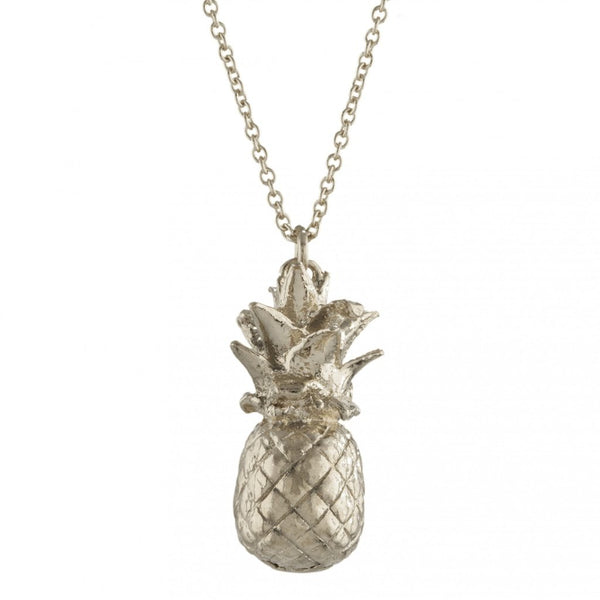 Alex Monroe - Alex Monroe Silver Pineapple Necklace - Designer Necklaces - Silverado