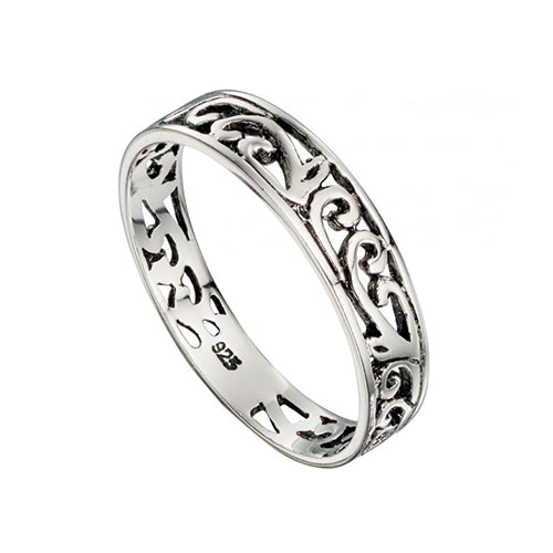Sterling Silver - Filigree Ring - Silver Rings - Silverado