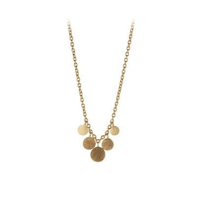 Pernille Corydon Mini Coin Necklace Pernille Corydon Designer Necklaces Silverado Jewellery