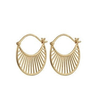 Pernille Corydon Daylight Hoop Earrings Pernille Corydon Designer Earrings Silverado Jewellery
