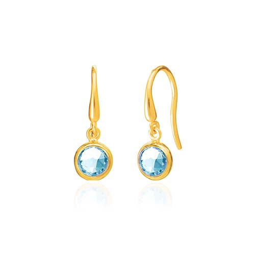 Rodgers and Rodgers Birthstone Earrings - March
