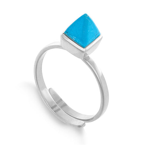 SVP Jewellery 'Rock the Casbah' Silver and Turquoise Ring