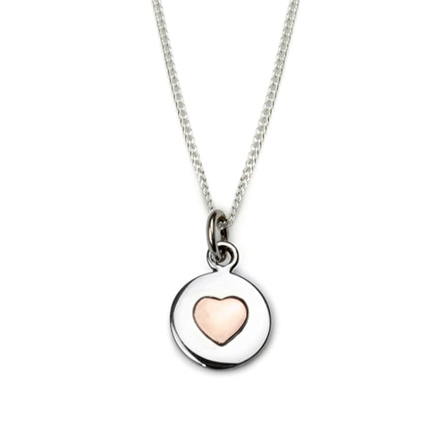 Tales From The Earth Love Circles Necklace - Rose Gold