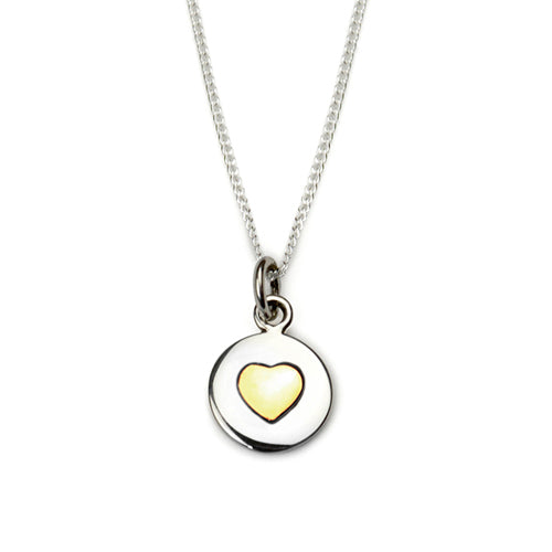 Tales From The Earth Love Circles necklace - Gold