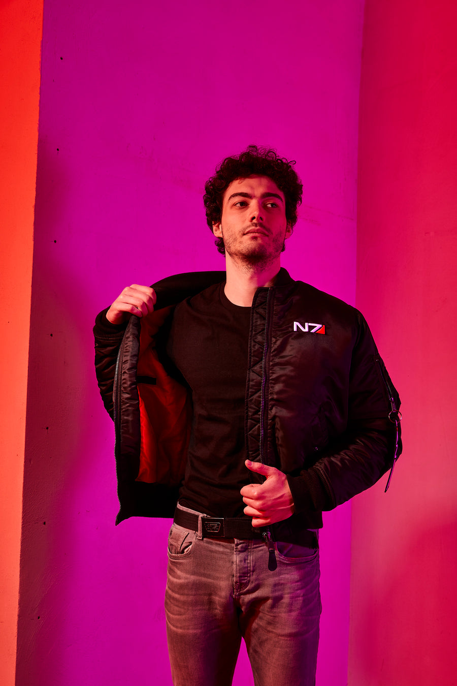 Mass Effect N7 Deluxe Bomber Jacket Men