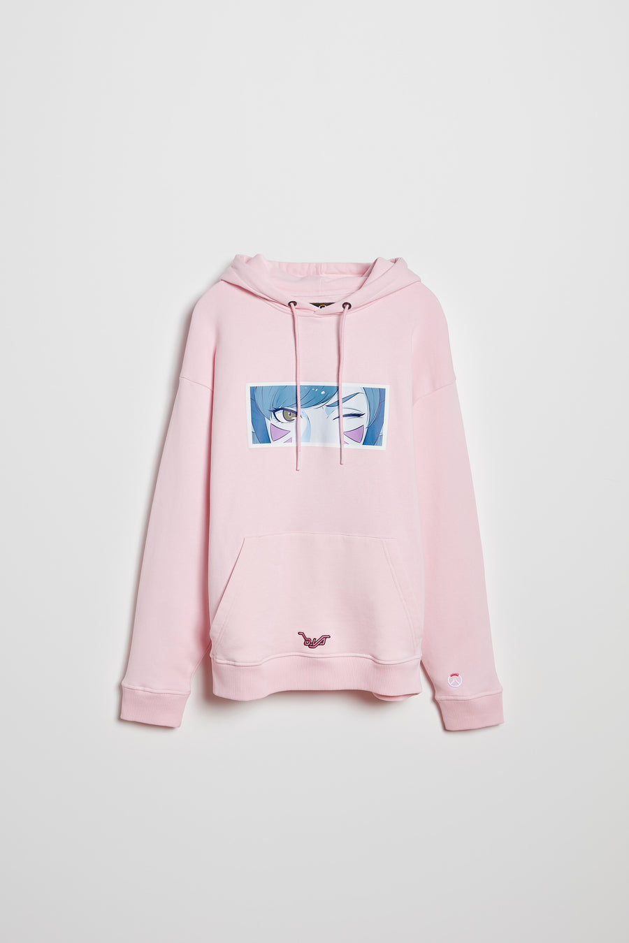 Overwatch DVA Anime Oversize Pullover Hoodie
