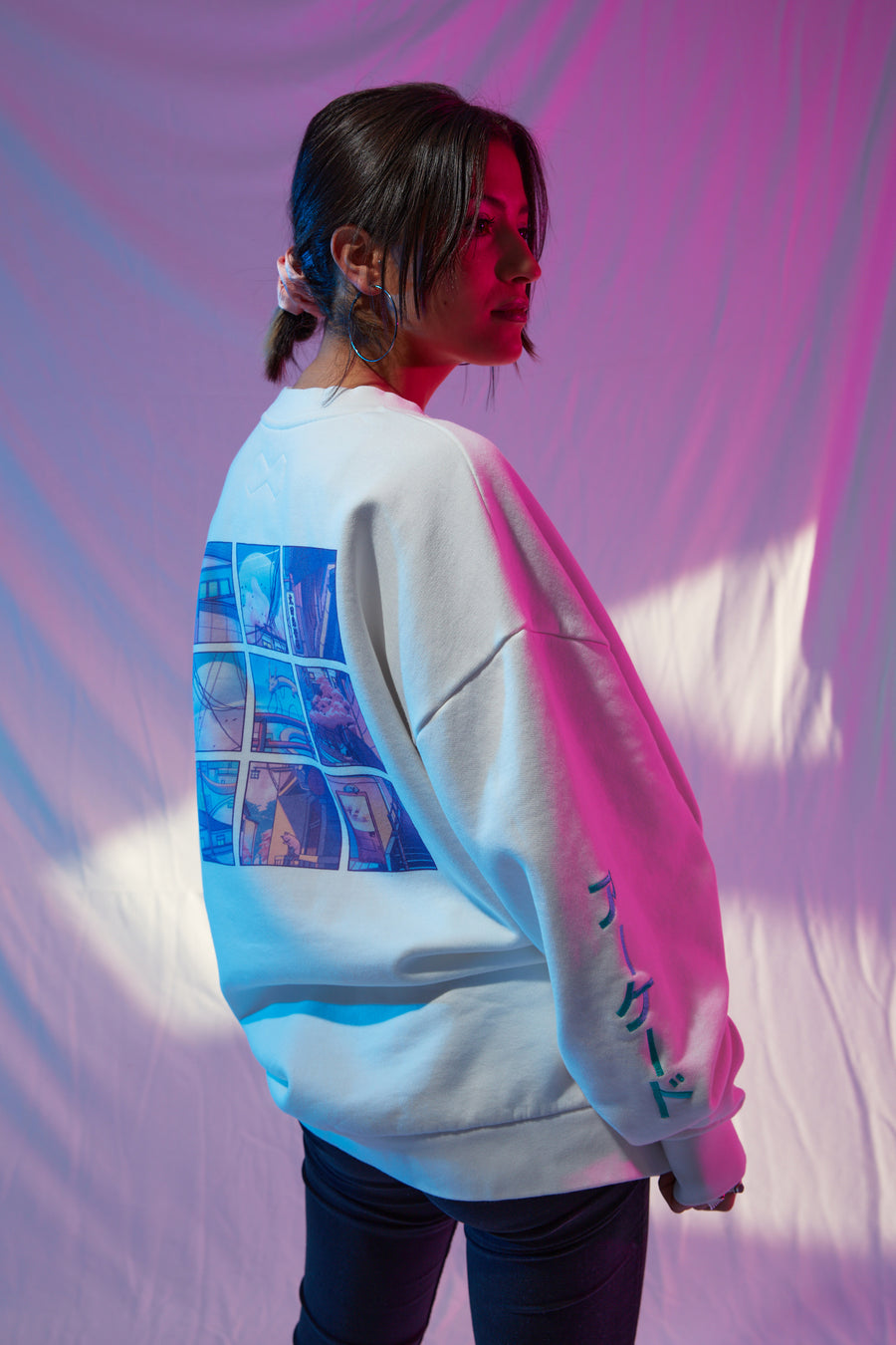 SuruDenise City Pop Oversize Sweater