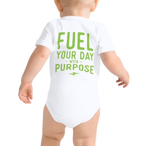 Fuel Your Day Baby Onesie