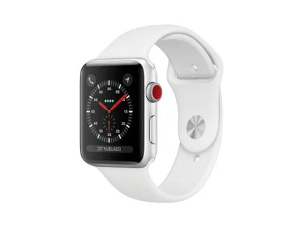 Apple Watch Series 3 38mm GPS Silver, Alum, Pulseira Esportiva