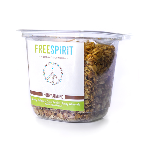 Honey Almond <br>Free Spirit® Granola