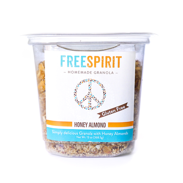 Gluten Free Honey Almond <br>Free Spirit® Granola