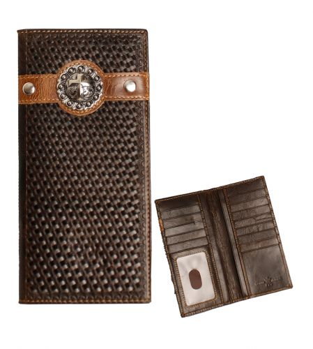MENS RODEO GENUINE LEATHER WALLET