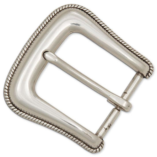 ROPED EDGED BUCKLE 1-1/2