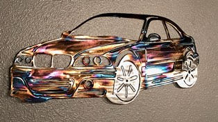 BMW - Metal Wall Decor