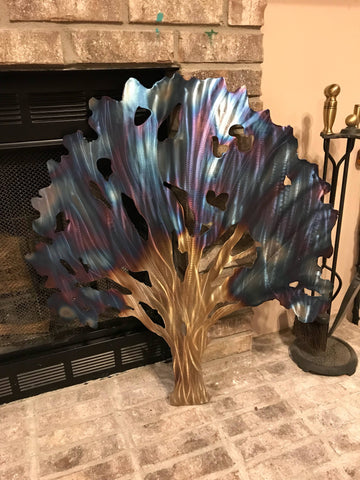 Mystical Tree - Metal Wall Decor