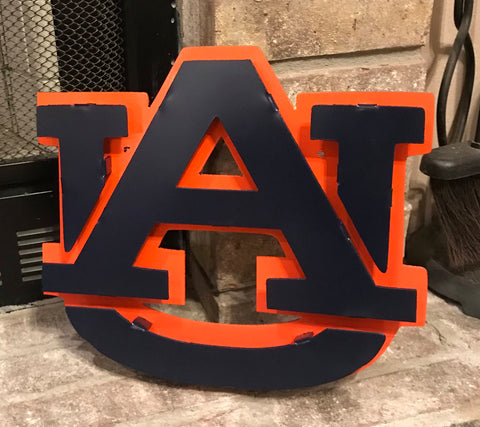Auburn Logo - Metal Wall Decor