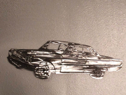 Ford Galaxie Metal Art- Metal Wall Decor