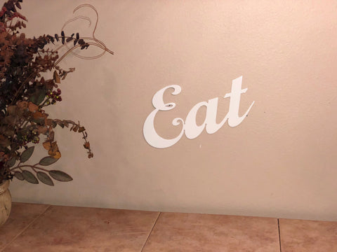 Eat Sign - Metal Wall Decor