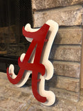 Alabama Logo - Metal Wall Decor