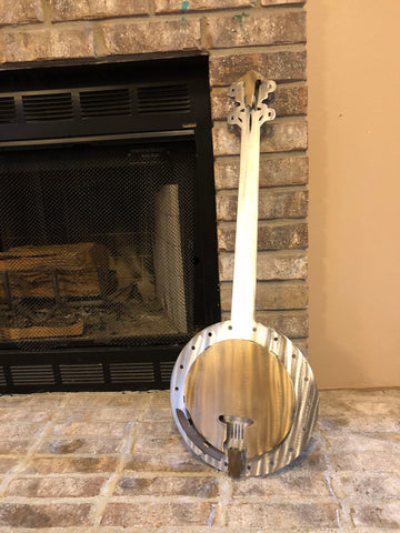 Banjo - Metal Wall Decor