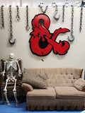 Dungeons and Dragons - Metal Wall Decor