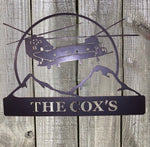 Army Chinook - Metal Wall Decor